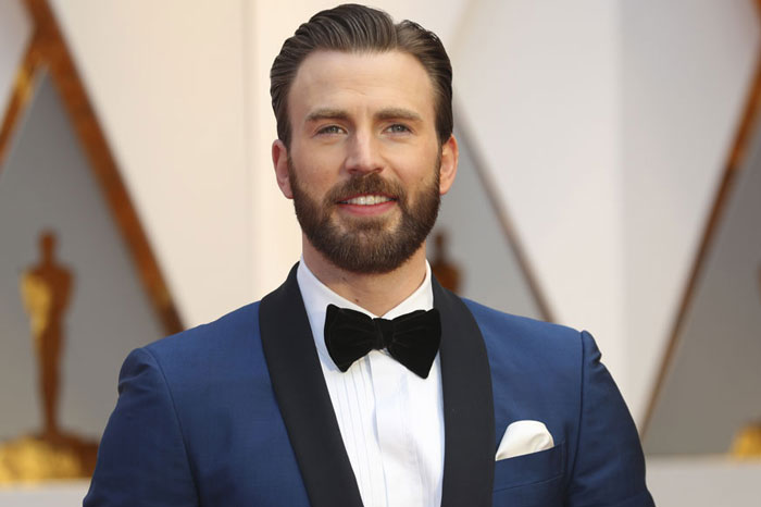 10. Chris Evans earned $34 million, from his role as Captain America in Marvel movies.