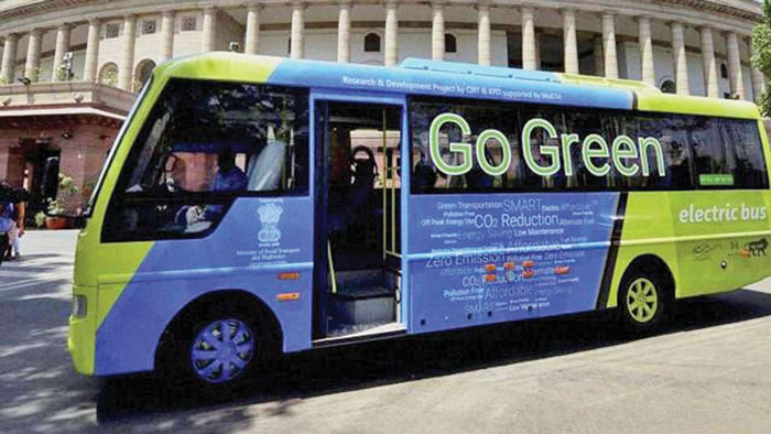 9. Add 449 buses to 1000 electronic buses to run on Delhi streets by 2019.