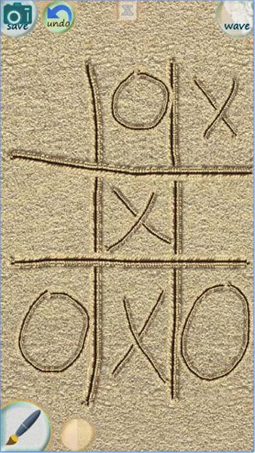 8. Sand Draw Sketch