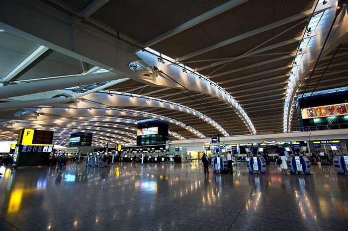 8. London Heathrow Airport, United Kingdom