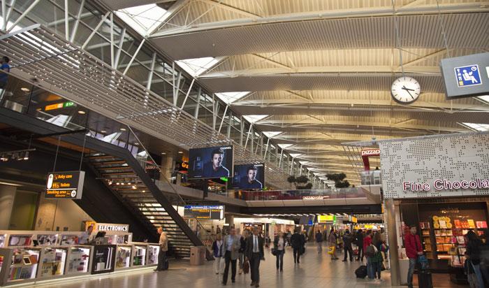 12. Amsterdam Schiphol Airport, Netherlands