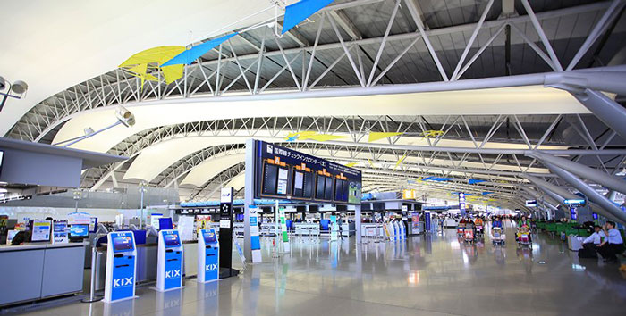 13. Kansai International Airport, Japan