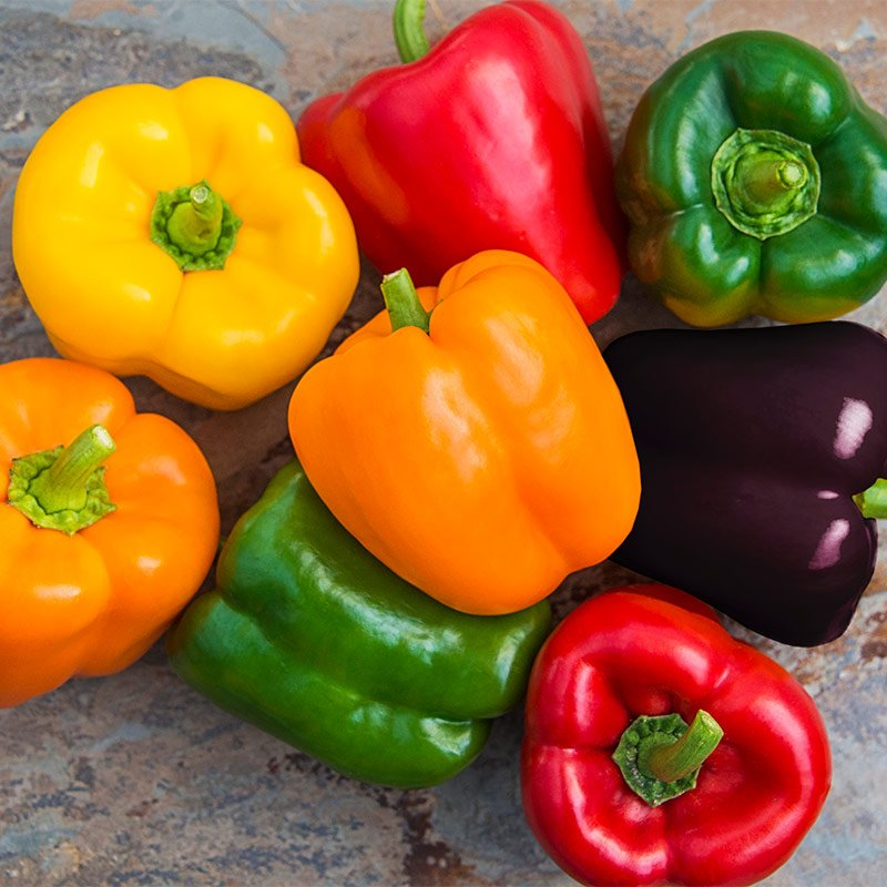 8. Bell peppers