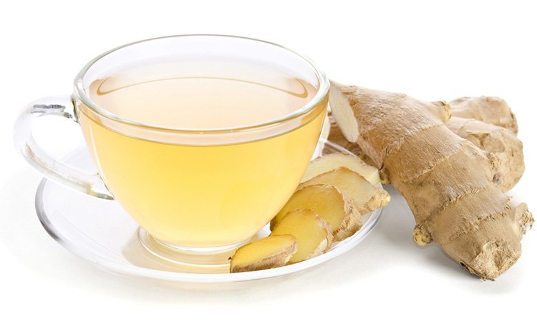 9. Ginger tea