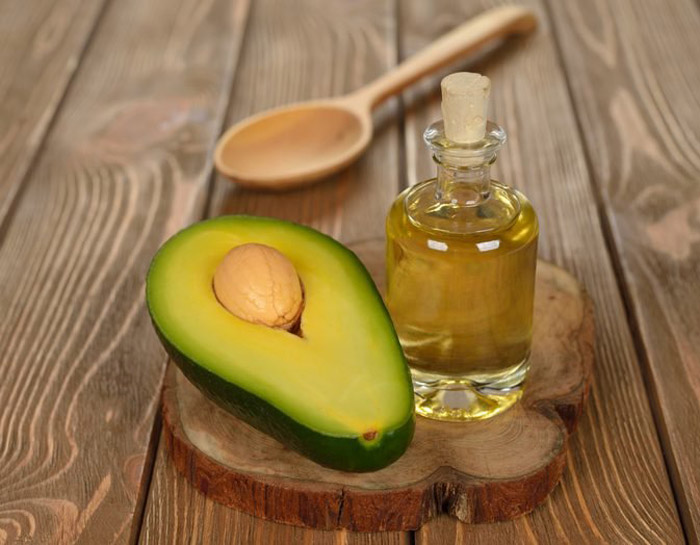 10. Avocado and almond oil hair mask