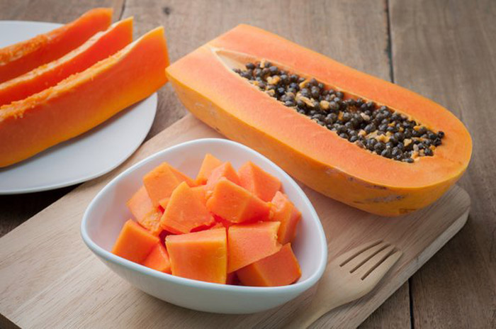 10. Consuming papaya aides in regulating blood flow during menstruation and reducing cramps as it is rich in papin.