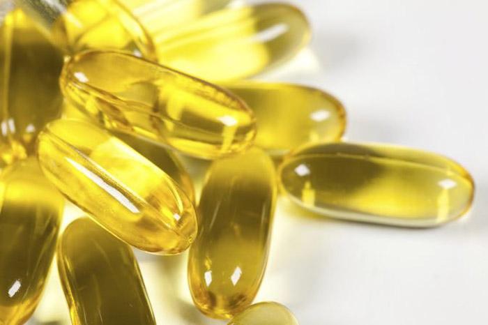 9.  Vitamin E oil capsules