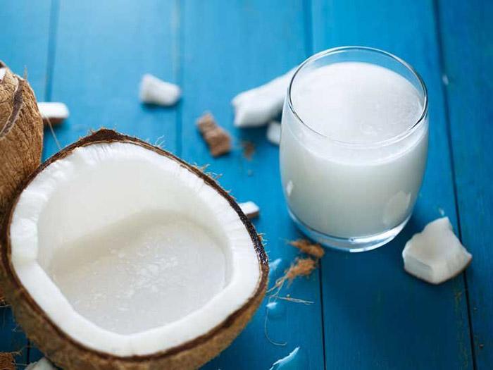 10. Coconut milk