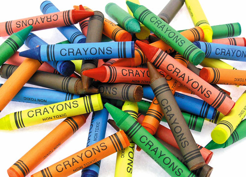 11. Do you know crayons get their smell from a hard fatty animal substance?