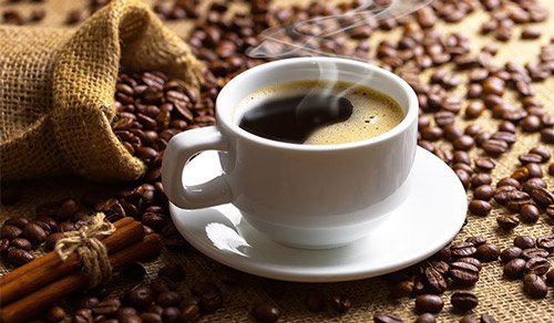 9. Sipping on black coffee in moderation increases metabolism rate and energy due to the caffeine content in it.
