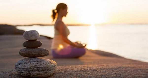 9. Meditation for 10-15 minutes can aide in relaxing the mind and body.