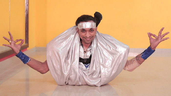 8. With both his legs paralysed, Kamlesh Patel became a dancer who has won millions of hearts worldover.
