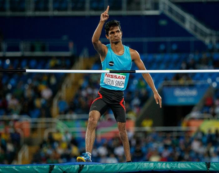 11. Permanently disabled at the age of 5, Mariyappan Thangavelu became India