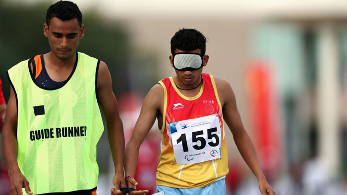 12. After losing his eyesight at the age of 6, Ankur Dhama became India