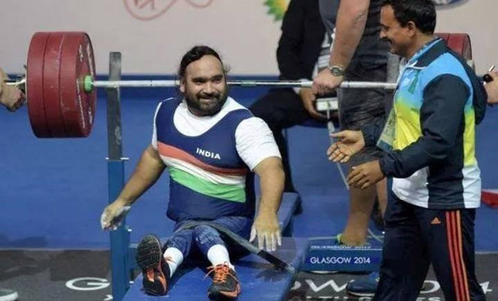 13. Confined to a wheelchair for years, Rajendra Singh Rahelu won a silver medal in Powerlifting at the Commonwealth Games 2014.
