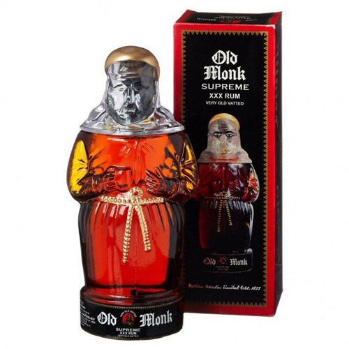 7. 1,99,27,916 bottles of Old Monk (750 ml).