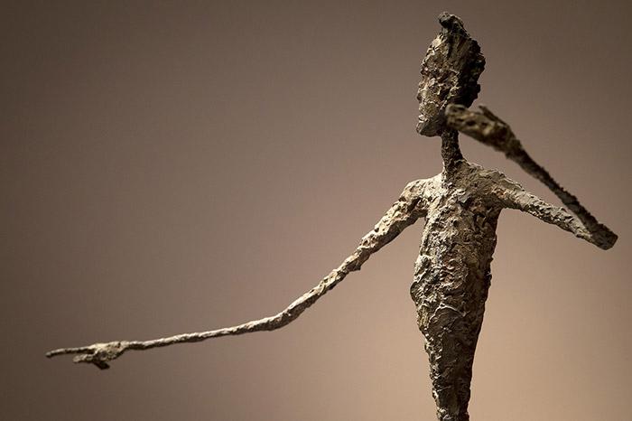 The top half of Alberto Giacometti