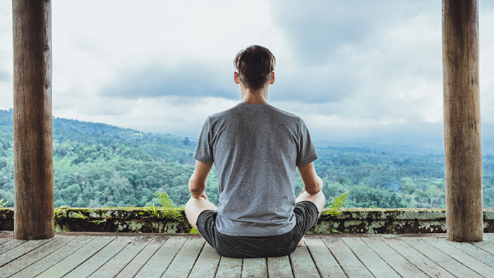 11. Meditate to stay focused and to reduce pre-exam stress.