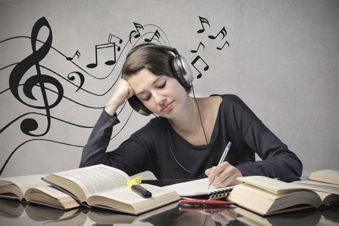 12. Select the right kind of music to improve your productivity and to elevate your mood. Click here to know more.