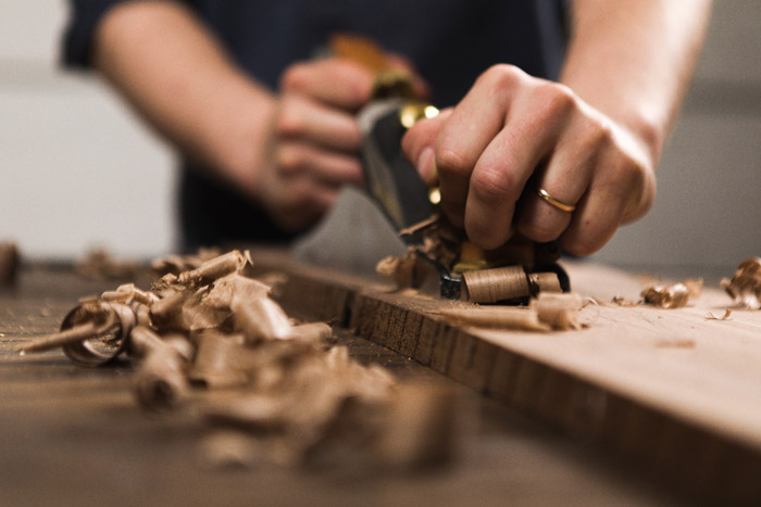 Woodworking Working with your hands, building something, taking a cold beer break whenever you want. Sounds like the perfect thing for a man to do. Also, it's one of those hobbies that you can't do if it's cold, so don't worry about any of that.