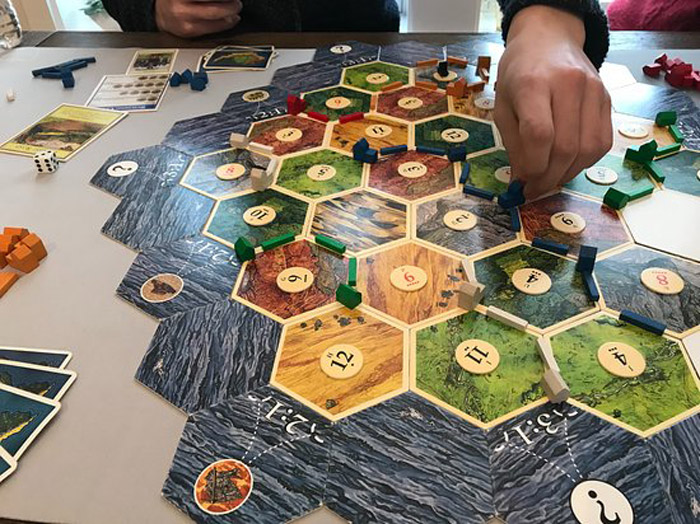 Board Games Board games are perfect if you want to do some nerdy stuff with a few friends, but aren't quite ready to go LARPing yet. Don't Google what that is, you'll be disappointed.