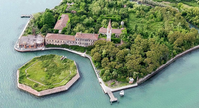 Poveglia, Italy The famous Italian island where the sick and mentally insane were sent to die is now uninhabited, for obvious reasons. The fact that nobody lives there but you can still hear occasional screaming probably doesn't help.