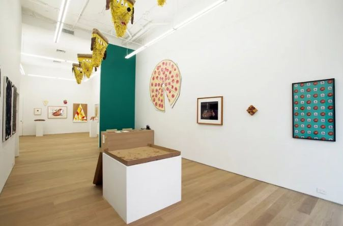 8. In 2013, the Marlborough Gallery in New York curated a show called