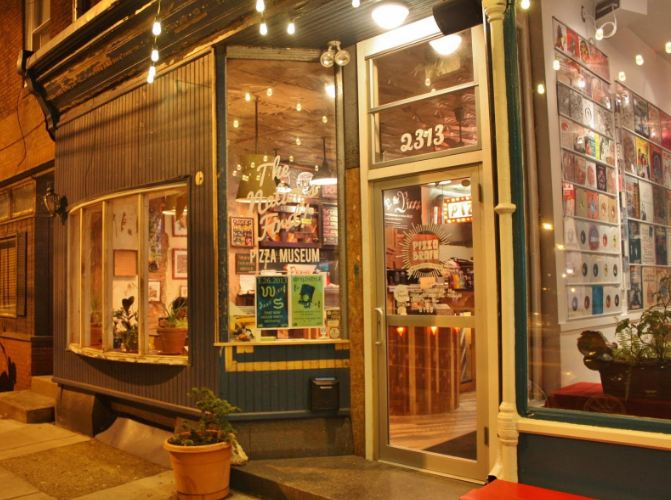 10. Philadelphia has a pizza museum called