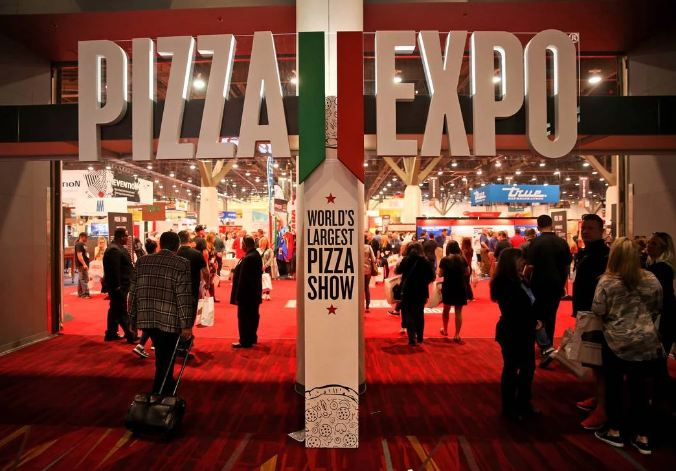 12. There is an annual pizza industry show in Las Vegas known as