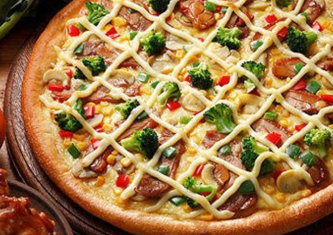 13. The Japanese use mayonnaise as a topping on their pizza.