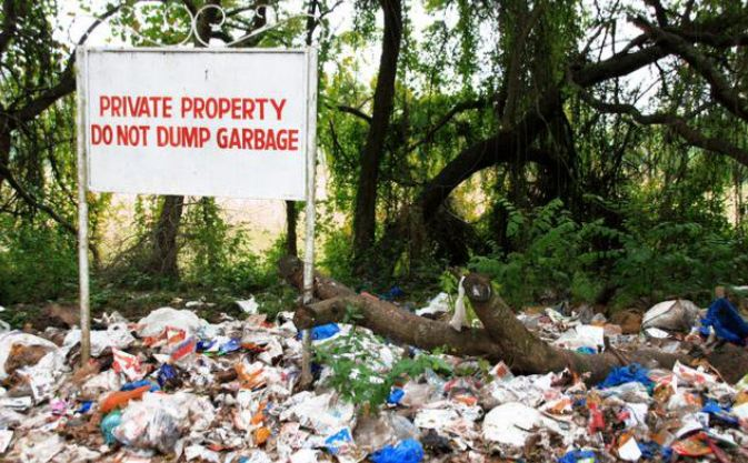 8. You can be fined up to Rs. 10,000 for littering in Chandigarh.