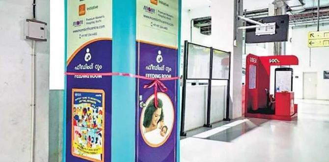 10. Kochi metro stations installed breastfeeding pods for lactating mothers.