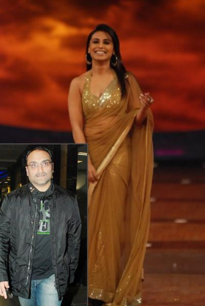 Aditya Chopra and Rani Mukherji