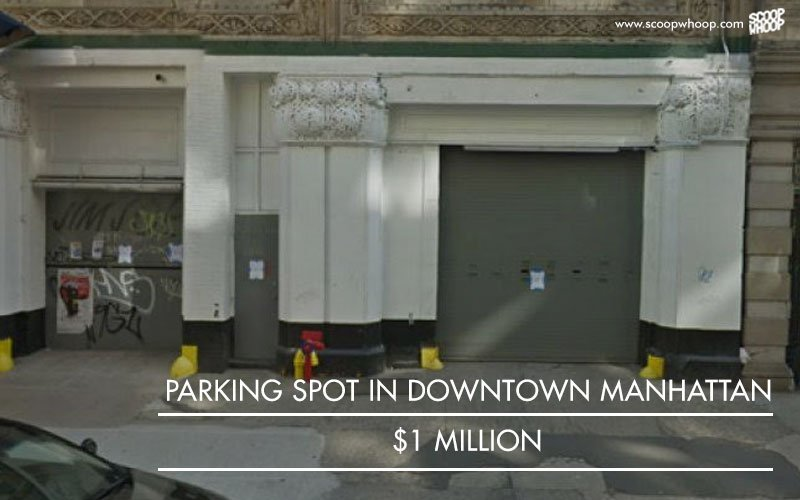 Parking spot Manhattan, 1 million USD