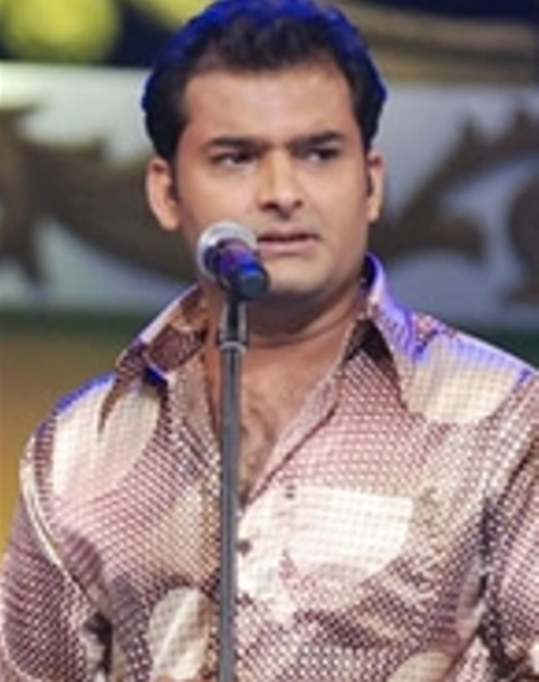 Kapil during his early Laughter Challenge days