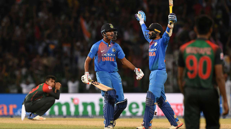Hitting the first ball he faced for six, Karthik went on to play the innings of a lifetime. The keeper-bat went on to blast 29 runs from eight balls to steer his team to victory. India needed five of the last ball, and DK managed to get a maximum. Team India won the 2018 Nidahas Trophy, and Dinesh Karthik earned a permanent spot in the hearts of millions of fans.