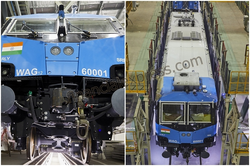 According to Alstom, the factory has a production capacity of 120 electric locomotives per annum.