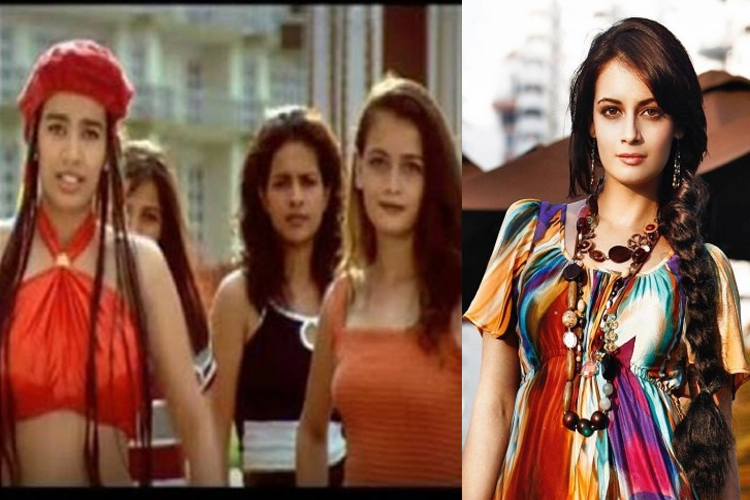 Actress Dia Mirza also started her Bollywood career as a background dancer. She was a background dancer in a Tamil song from the film En Swasa Kaatre.