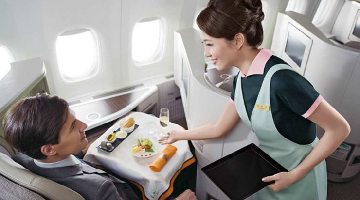 EVA Air   One of the only eight 5-Star Airlines named worldwide by international quality ratings organization Skytrax, the Taiwanese carrier flies to more than 60 destinations across the world. It has a fleet of 70 aircraft which include products of Boeing, McDonnell Douglas and Airbus.