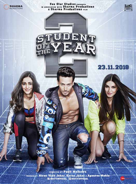 Student of the Year 2 will make a splash on the silverscreen on November 23, 2018