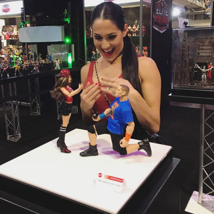Around a week ago, Nikki Bella posted this adorable picture on her Instagram. She looked so happy!