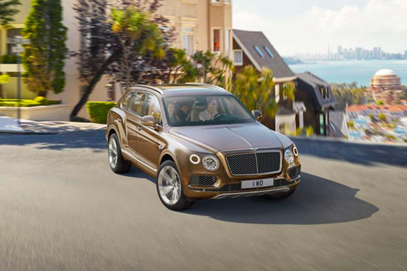 Bentley Bentayga: The Bentley Bentayga is one of the fastest production SUVs and it is capable of achieiving a top speed of 301 kmph. Powering this behemoth is a 6.0L, V12 engine that is good for churning out 600 bhp along with a peak torque of 900 Nm. The Bentley Bentayga can be purchased at a price of Rs 7.6 crore.