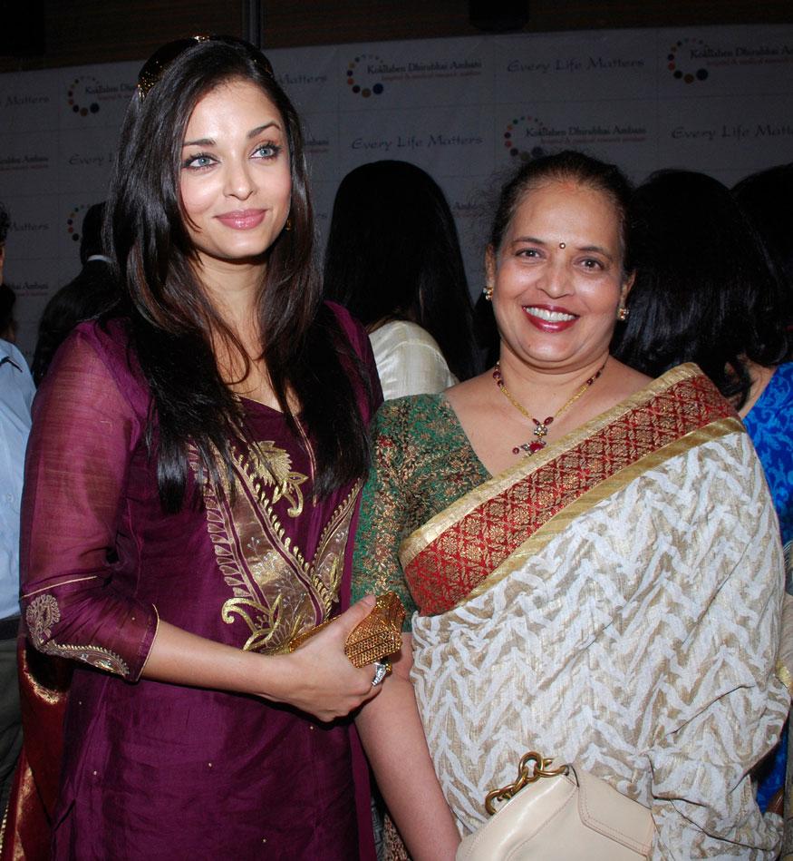 Aishwarya Rai Bachchan and Vrinda Rai.