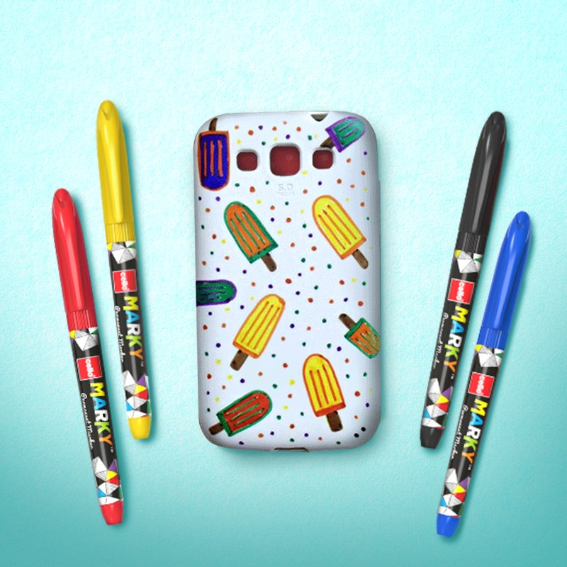 6. Doodle your heart out on phone covers