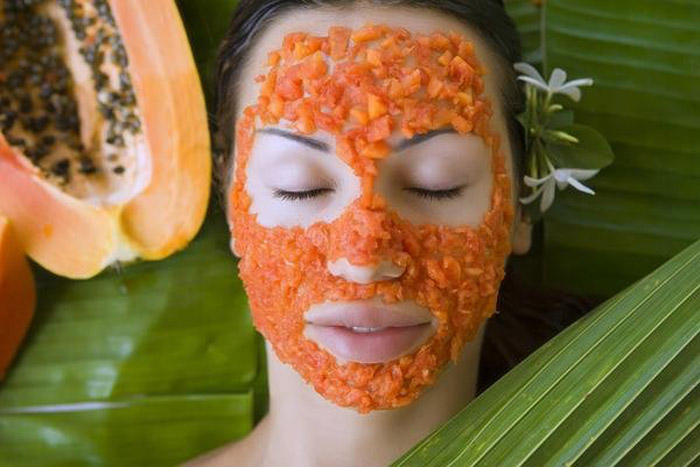 6. Enzymes found in papaya assists in reducing the signs of aging as it removes dead skin cells, age spots and wrinkles.