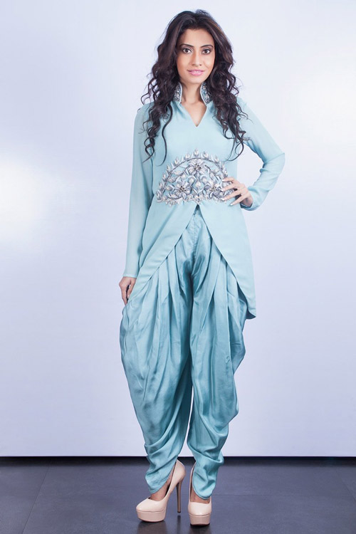 6. Get your lehenga re-stitched into a completely different outfit to make heads turn.