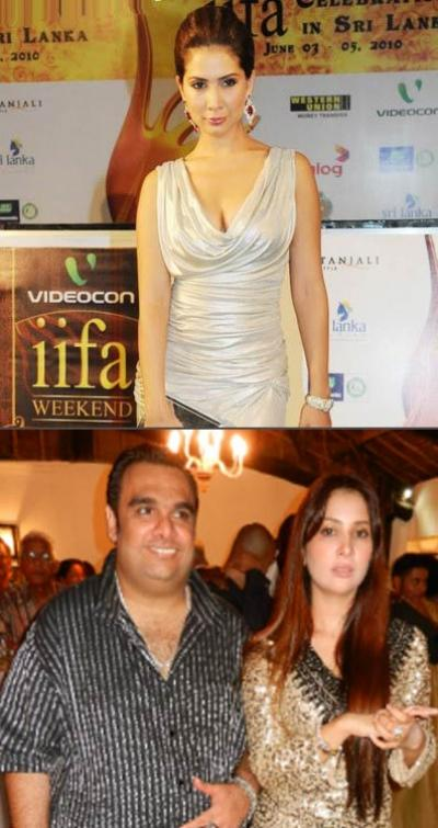 Kim Sharma and Ali Punjani
