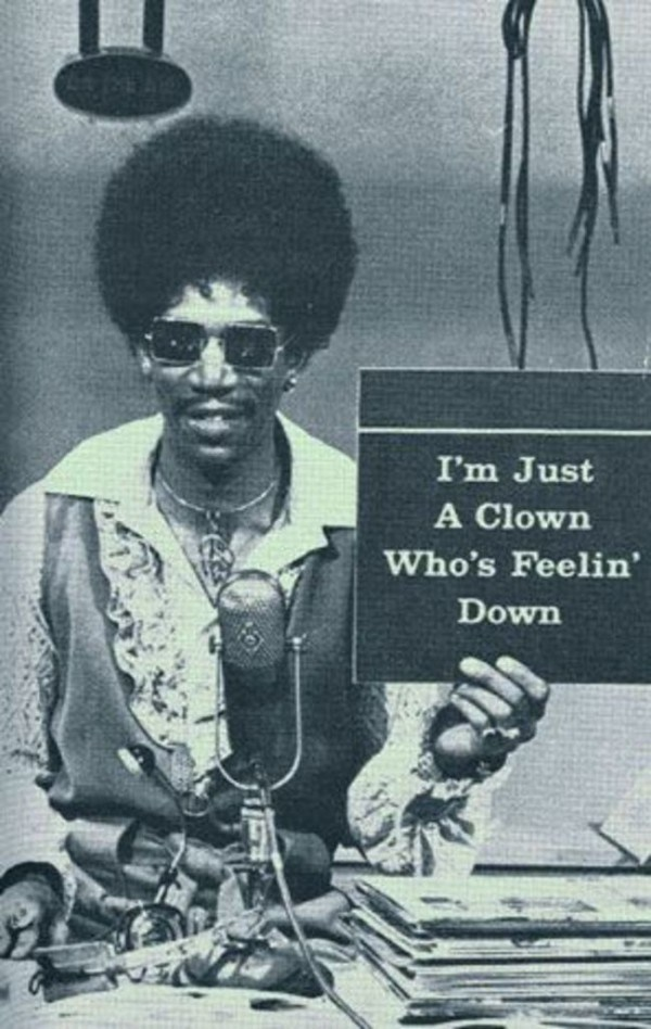 Morgan Freeman sporting an afro in the TV show The Electric Company [1970s].