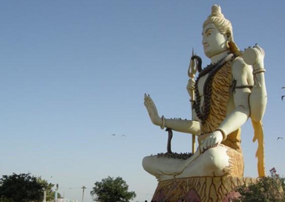 Nageshwar Shiva Statue 82 feet (25 meter) Dwaraka, Gujarat