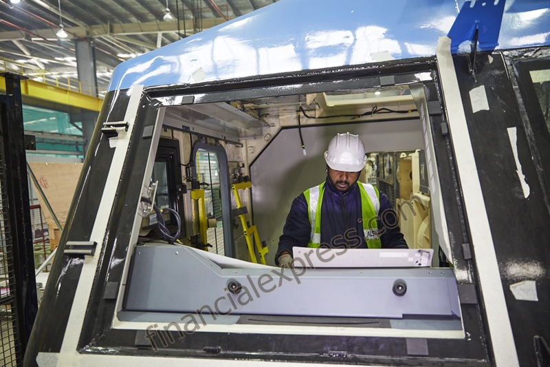 Alstom claims that as many as over 300 engineers from both India and France were involved in designing and engineering the electric locomotive for Indian Railways.